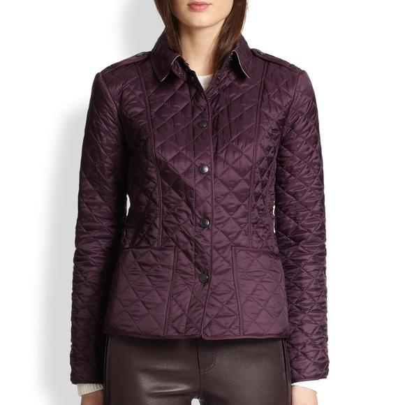 Burberry Jackets & Blazers - Burberry Kencott Nova Check Lined Quilted Jacket